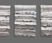 Bed-Paper-River Triptych
